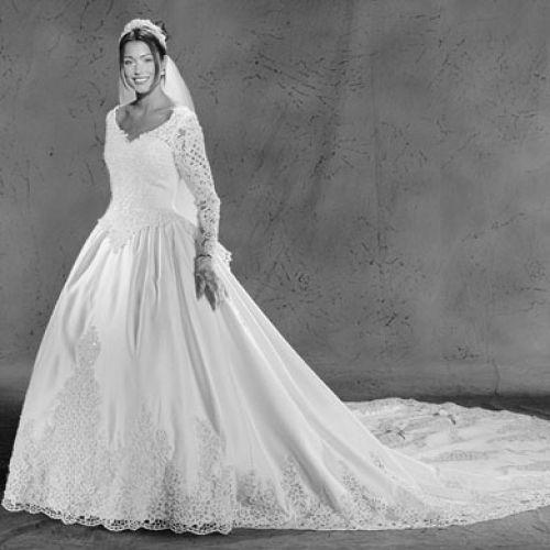 1990 Wedding Gown