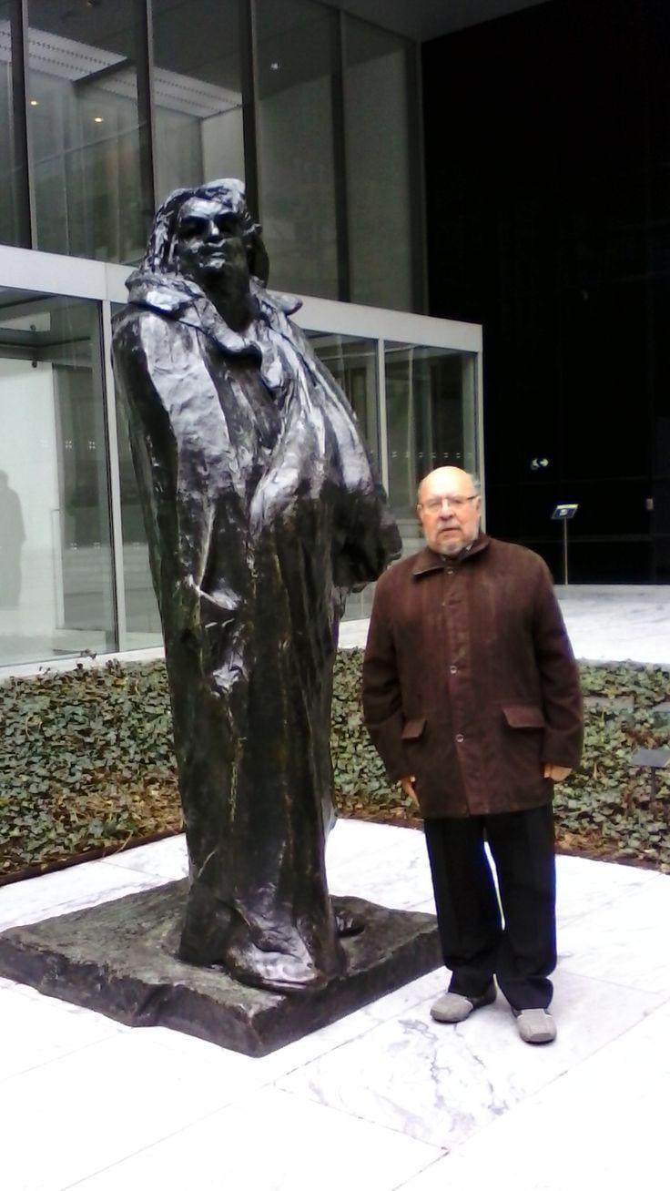 Balzac y yo en el MOMA.
