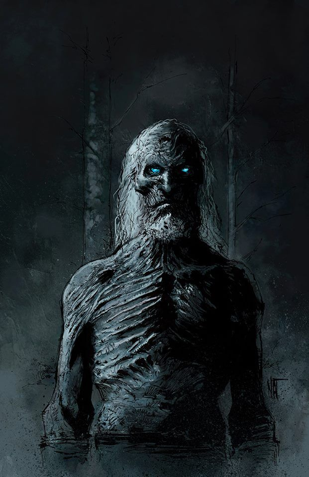 White Walker by Nat Jones / Tumblr