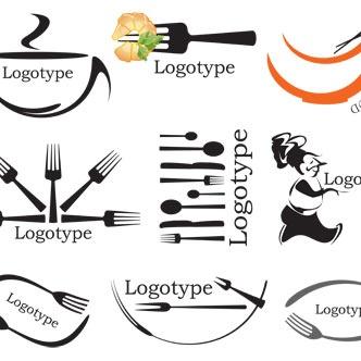 Logos con cubiertos