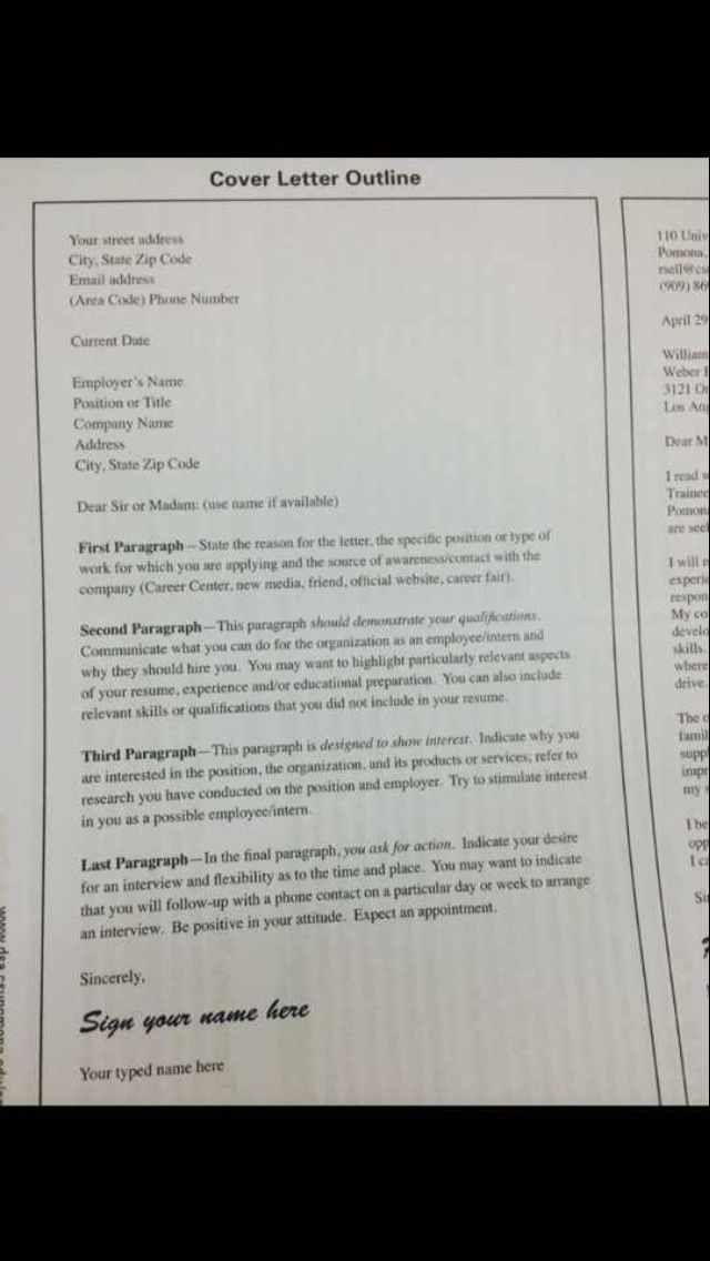 Good guide I use to construct a quick cover letter Business - quick cover letter
