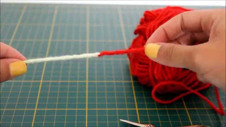 Como emendar dois fios de lã sem nó - Crochê e Tricô sem nó -  Knitting ...
