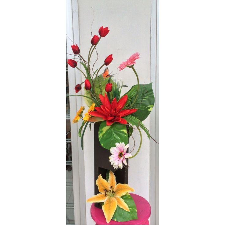 Pin de ideas con flores en dise os florales artificiales - Plantas artificiales baratas ...