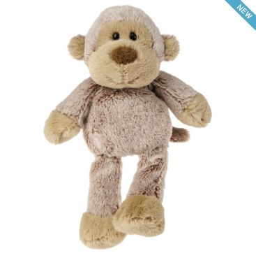 Marshmallow Junior Monkey from Mary Meyer  Available now at Bobangles.  #MaryMeyer #plush #toys #kids #cute #Australia #monkey