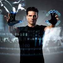 Minority Report Heads-Up Displays ➪ Air Touch Technology | 31 Science-Fiction Things That Actually Exist Now