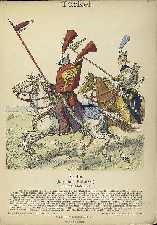 Sipahi, or cavalry soldier, Ottoman | Ottomans | Pinterest ...