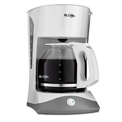 Mr Coffee 12 Cup Manual Coffee Maker White Traditional Performance And Modest Design Hold Brewing Easy And Simple For Espresso Mr Coffee Coffee Maker Coffee