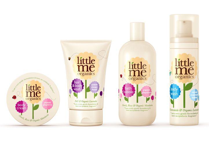 {R Design Studio} Little Me Organics packages