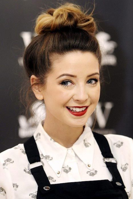 YouTube personality and author, Zoe Sugg...