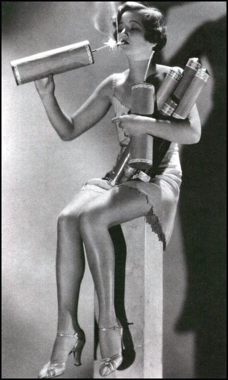 Fire Cracker ~ Photo of Arline Judge,1932#mathilde2CParis #mathilde2C#enmodevintage