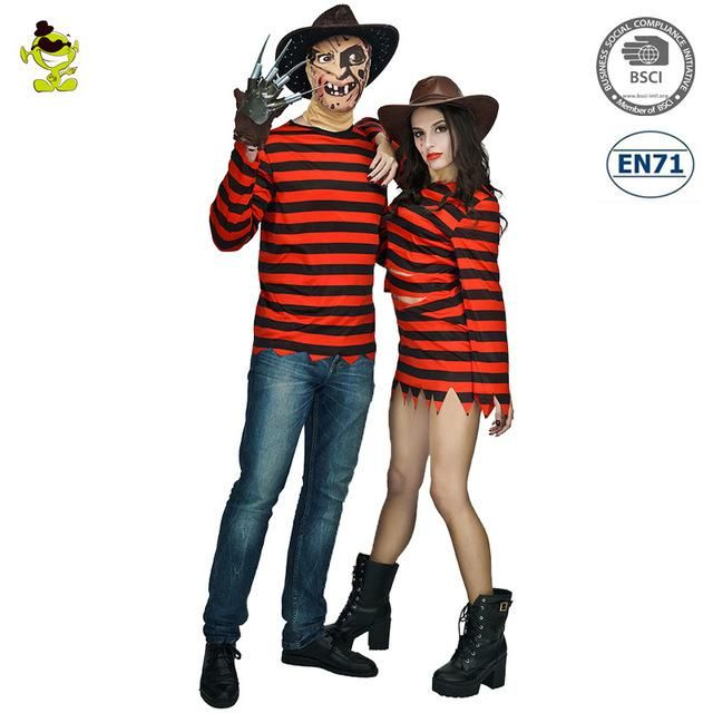 New arrivals Freddy killer costumes with claw for Halloween or Cosplay