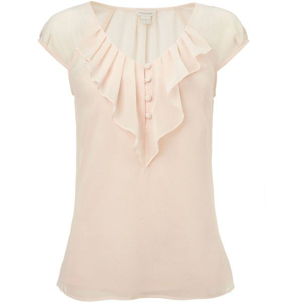 Monsoon Macey Top ($68) found on Polyvore