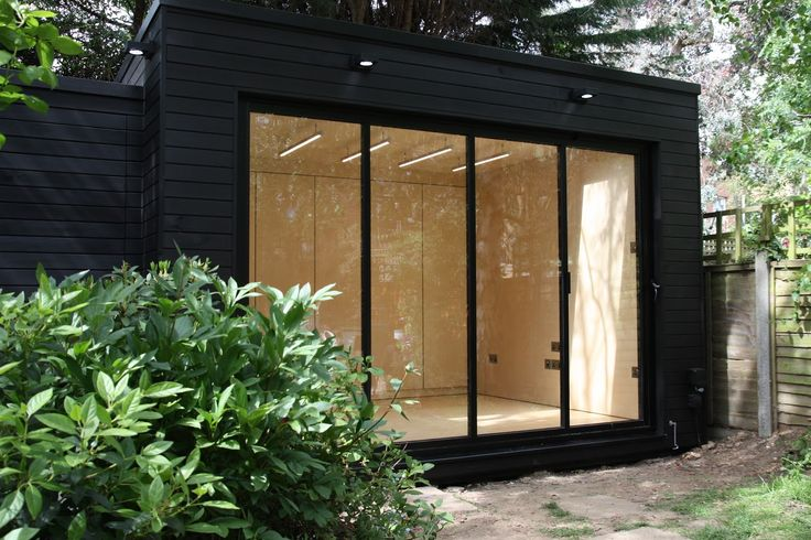 black garden rooms - Google Search