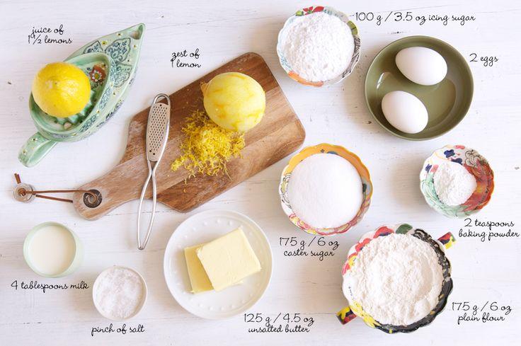 Simply Lemon Loaf lemon-syrup-loaf-cake-ingredients Recipe by Nigella Lawson