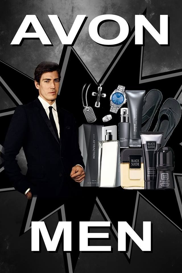 Yes we have men's products too.  From Fragrances, Shaving products, body washes, slippers, watches, gadgets, and more. www.youravon.com/purpletiger