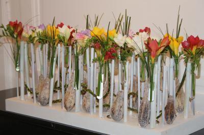 Centre de table floral _ création maison