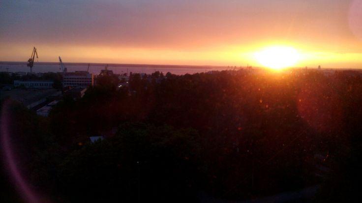 Люблю смотреть на закаты 🌅