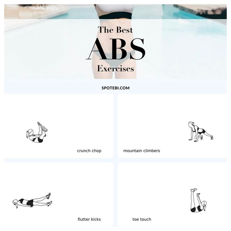 Top 10 #AB #Exercises For Women: ✔️Tone Your Midsection & ✔️Sculpt The Abdominal Wall! http://www.spotebi.com/fitness-tips/best-ab-exercises-toning-midsection/ @spotebi #GetFit #Healthy #Happy