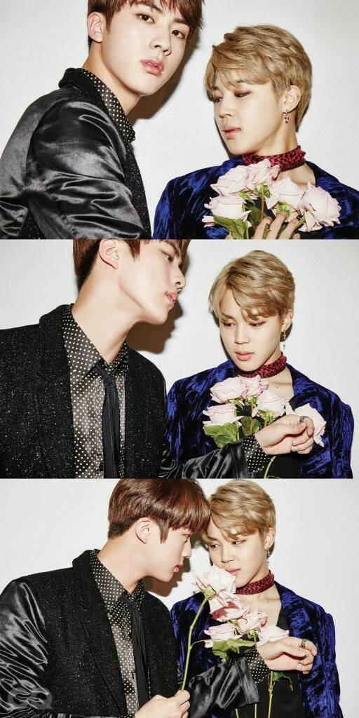Jin and Jimin ❤ BTS for GQ Korea Magazine December Issue 'Men of the Year' #BTS #방탄소년단