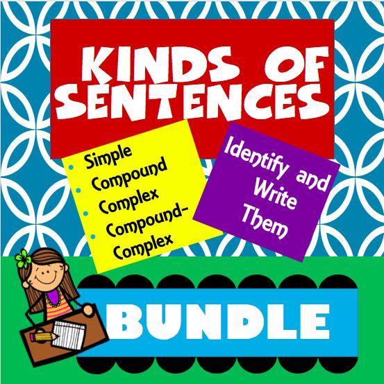 simple compound and complex sentences exercises pdf