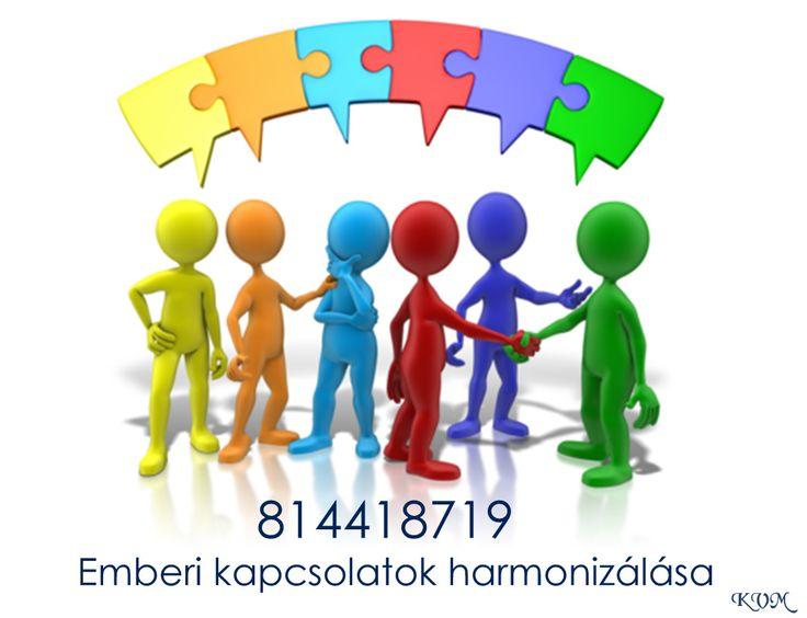 emberi kapcsolatok harmonizálása