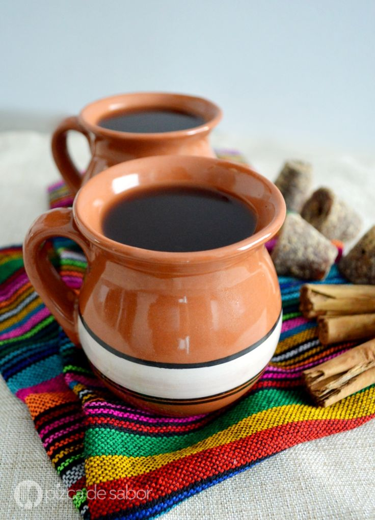 Café de olla (receta fácil y deliciosa) www.pizcadesabor.com
