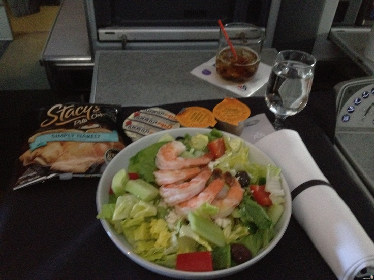 1st class flight- american airlines