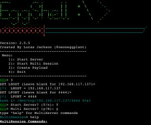 EggShell (formerly known as NeonEggShell) is an iOS and OS X surveillance tool written in python. This tool creates an command line session with extra functionality like downloading files, taking pictures, location tracking, and gathering data on a target.