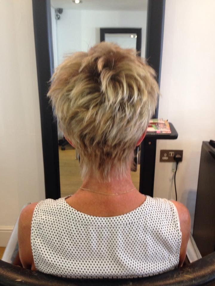 great short hairdo
