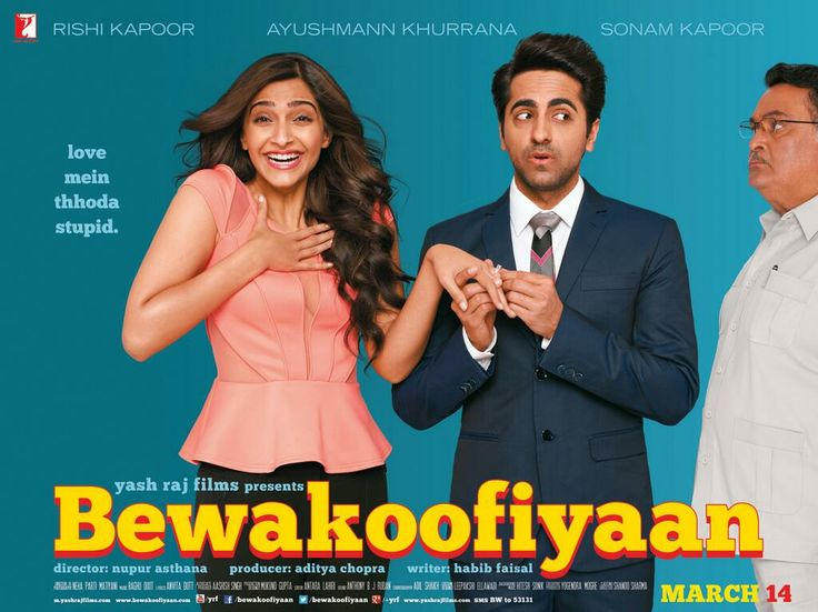 Upcoming #Bollywood movie Bewakoofiyaan Ft. Sonam Kapoor & Ayyushmann - hit or miss?http://movies.buzzintown.com/bewakoofian/segment--synopsis/id--699091.html