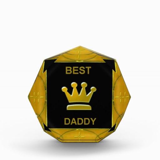 Best Daddy Acrylic Award by elenaind