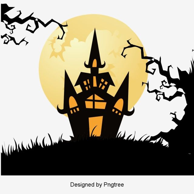 Simple Cartoon Halloween Design Pattern Halloween Decorations For Kids Simple Cartoon Diy Halloween Decorations
