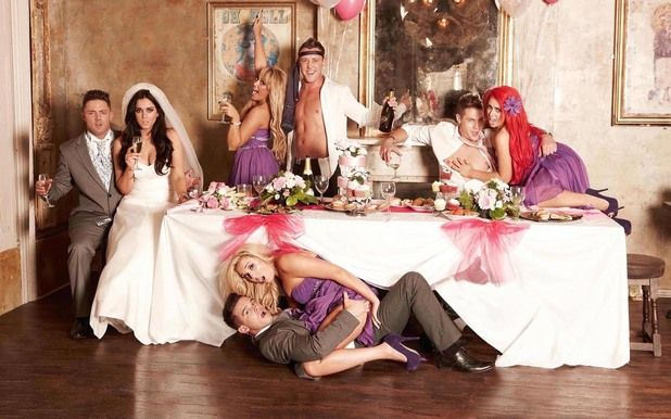 Geordie Shore Cast In Wedding Themed Shoot For Now | Wall Pics