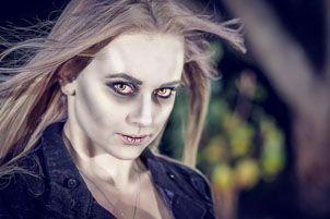 Vampire photoshoot
