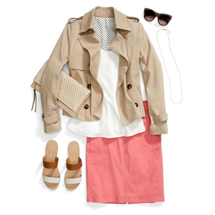 Spring spruce-up! Take 10 seconds to lift your look with a bright new hue like coral. #StylistTip