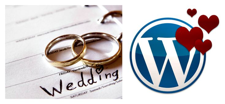 WordPress Wedding Theme 2015 #wedding #WordPressWedding #weddingwebsite