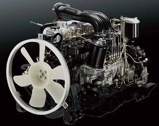 Camiones FUSO   Camión FK   Motor: Reconocido por su calidad y durabilidad, el motor TDI con sistema Common Rail (Euro 3) de Fuso cuenta con tecnologías que brindan un excelente desempeño, alto torque (69.9 kg.m) y gran economía.