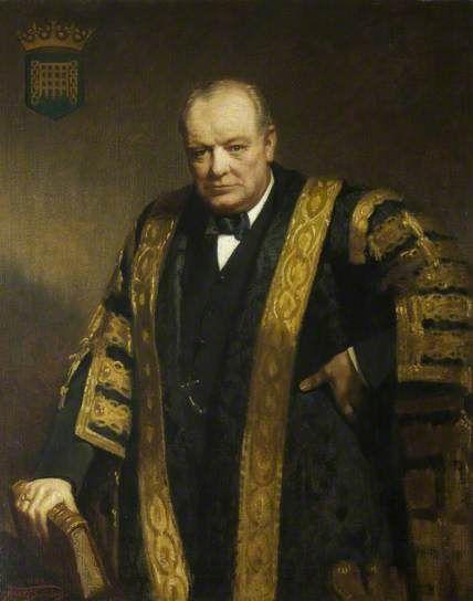 The Right Honourable Sir Winston Churchill (1874–1965), KG, OM, CH, MP, Chancellor (1929–1965)