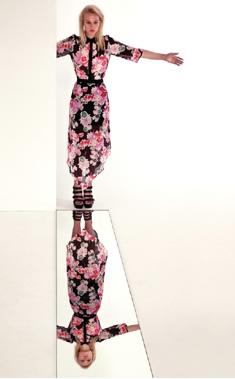 Drippy Floral Shirt + Drippy Floral Skirt . Something Else  www.something-else.com.au