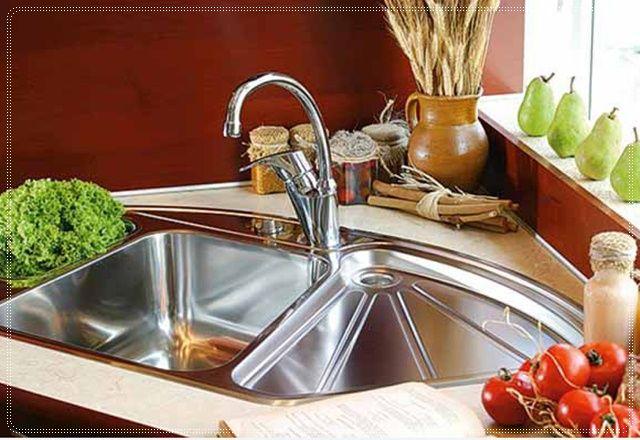 Speichern Sie Ihre Raum Mit Ecke Kuche Waschbecken Design Ecke Spulbecken Die Spule In Die Ecke Der Kuche Corner Sink Kitchen Kitchen Sink Decor Sink Design