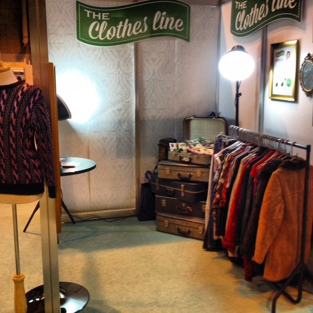 Check out how fabulous our vintage inspired stand looked this weekend. We'll be uploading all your amazing pictures too soon!