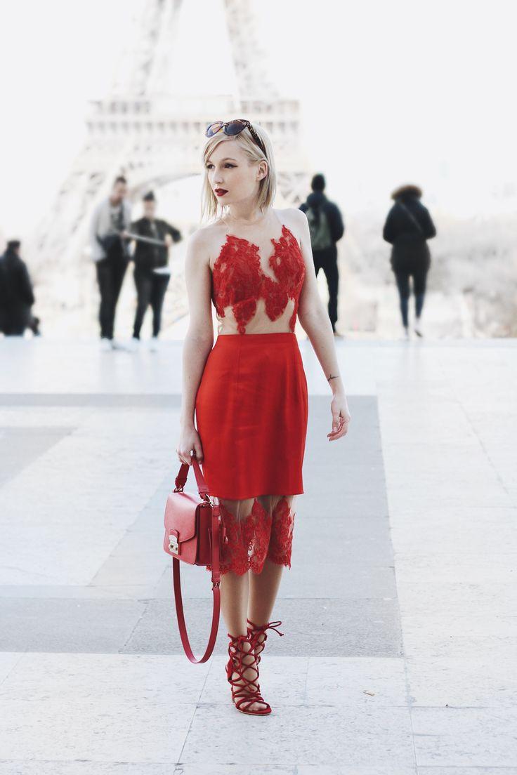 Dress: Nora Sarman.