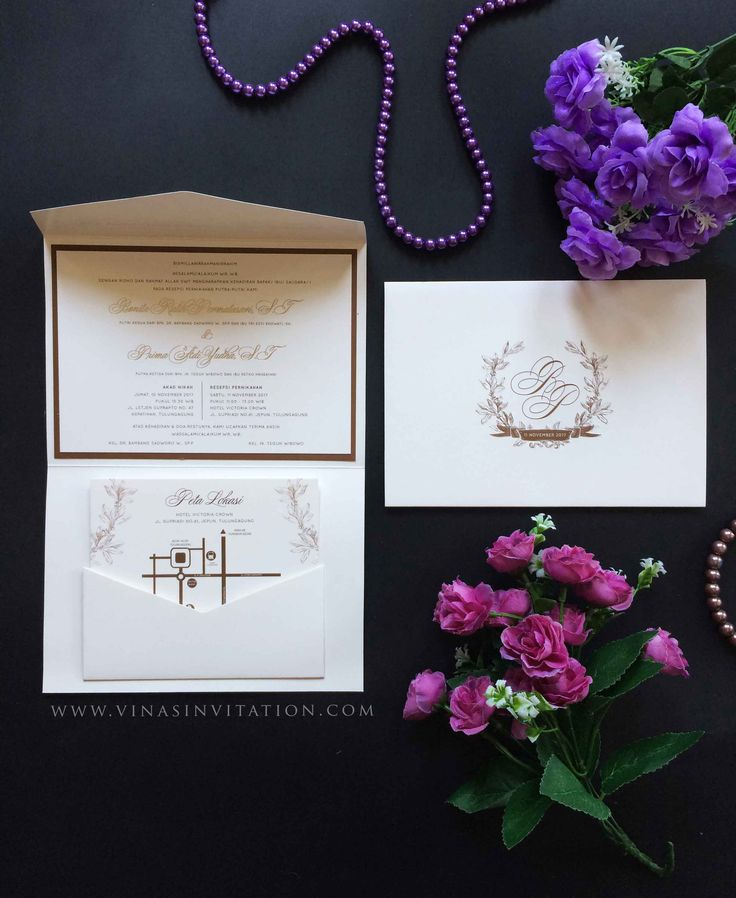 93 best Simple Elegant Invitation images on Pinterest Sydney - wedding invitation design surabaya