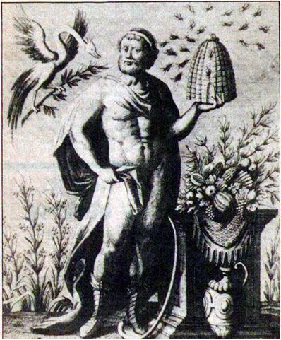 Greek mythology/bees