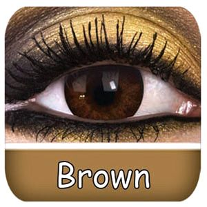 Natural Brown Contact Lenses