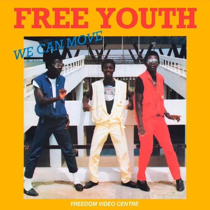 "Announcing Free Youth ""We Can Move"", one of the first known"