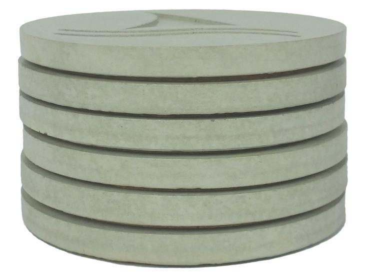 Concrete coaster - uncoloured