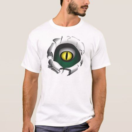 Hole, break.The eyes of the monster T-Shirt - click/tap to personalize and buy