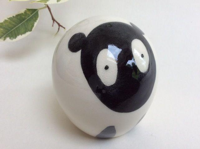 Handmade pottery sheep. £19.50 #folksyfriday