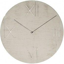 Nextime :: Zegar Ścienny Galileo ø 43 cm Biały z ramką podświetlającą - Nextime 3104WI | 9design Warszawa